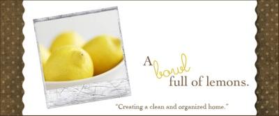 A bowl full of lemons.